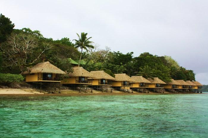 Irririki Island Huts