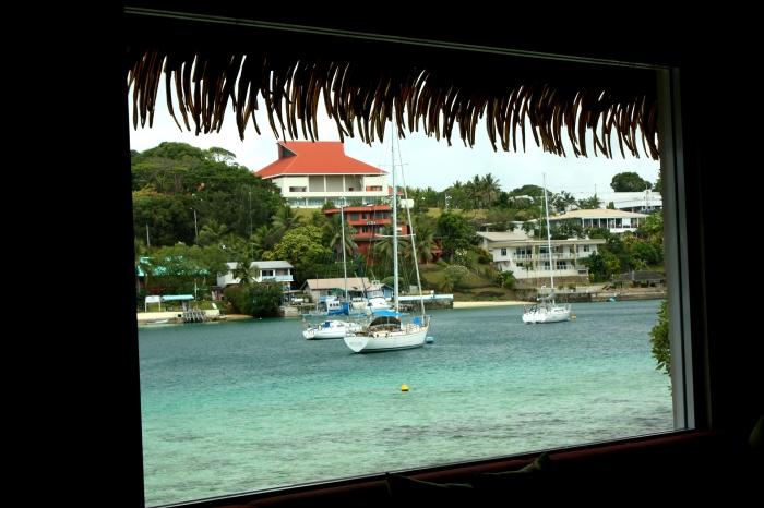 Port Vila from Irririki Island