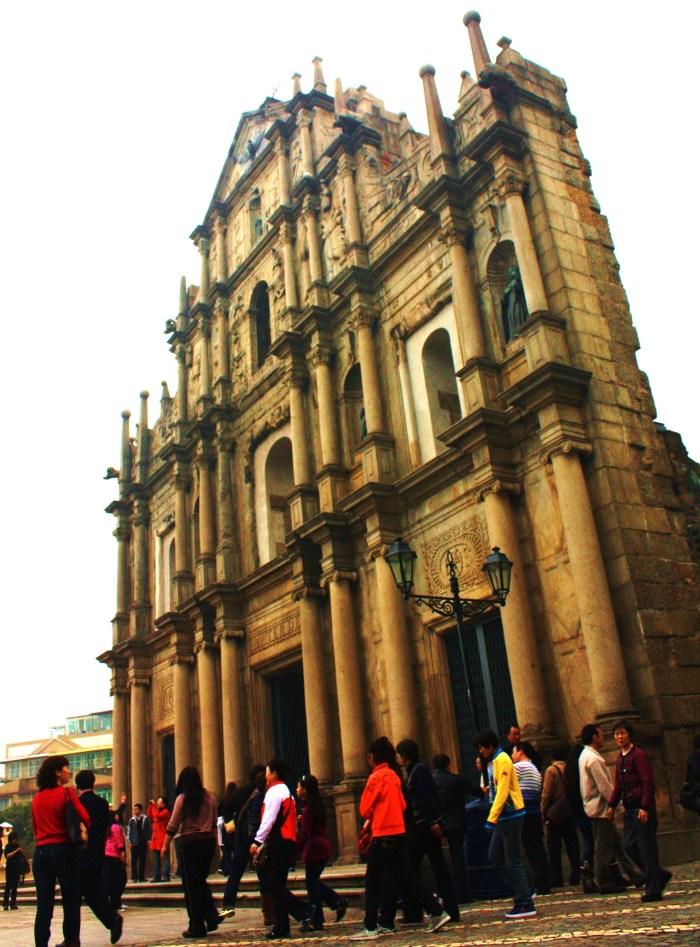 St Paul's Ruins, Macau