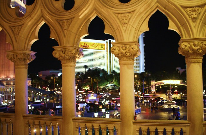The Strip from The Venetian