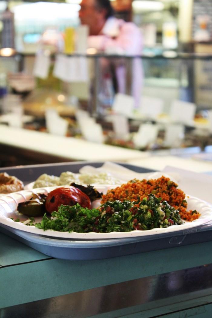 Kebab and Tabouli