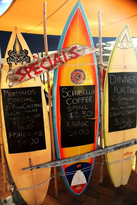 Local Restaurant by the Beach