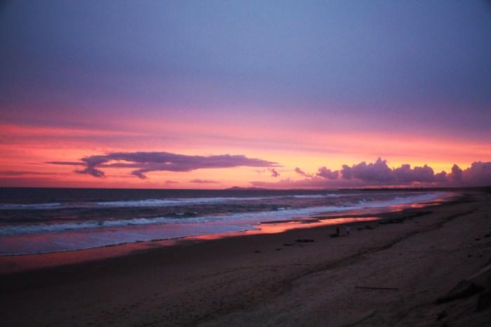 Sunset in Old Bar Beach