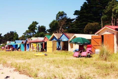 Beach Huts at Dromano