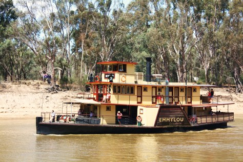 Paddle Steamer on Murray River