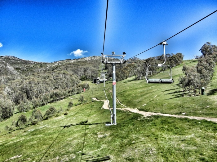 Chairlifts in Thredbo