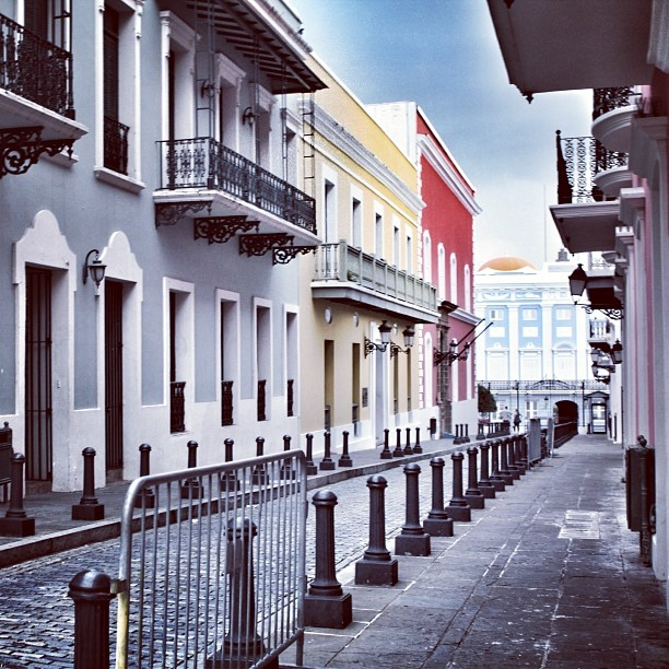 Colourful Old San Juan
