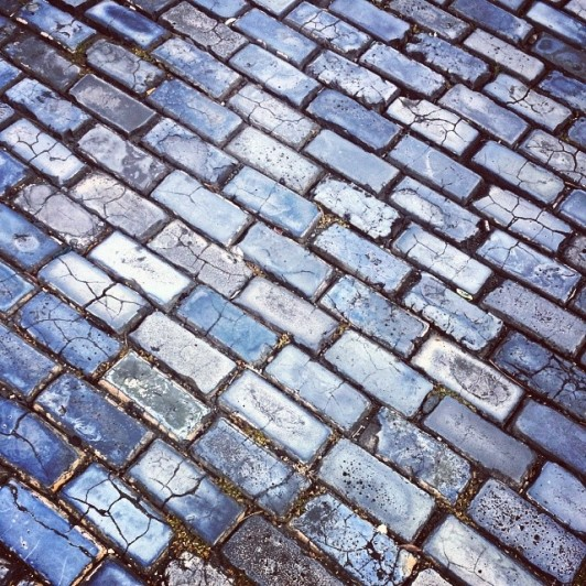 Blue Cobbled Stone