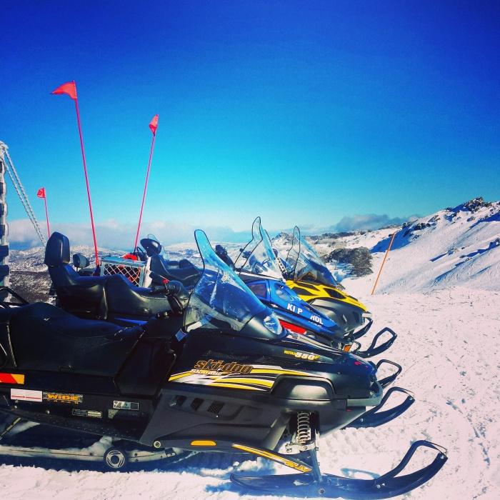 Ski patrol assembly line