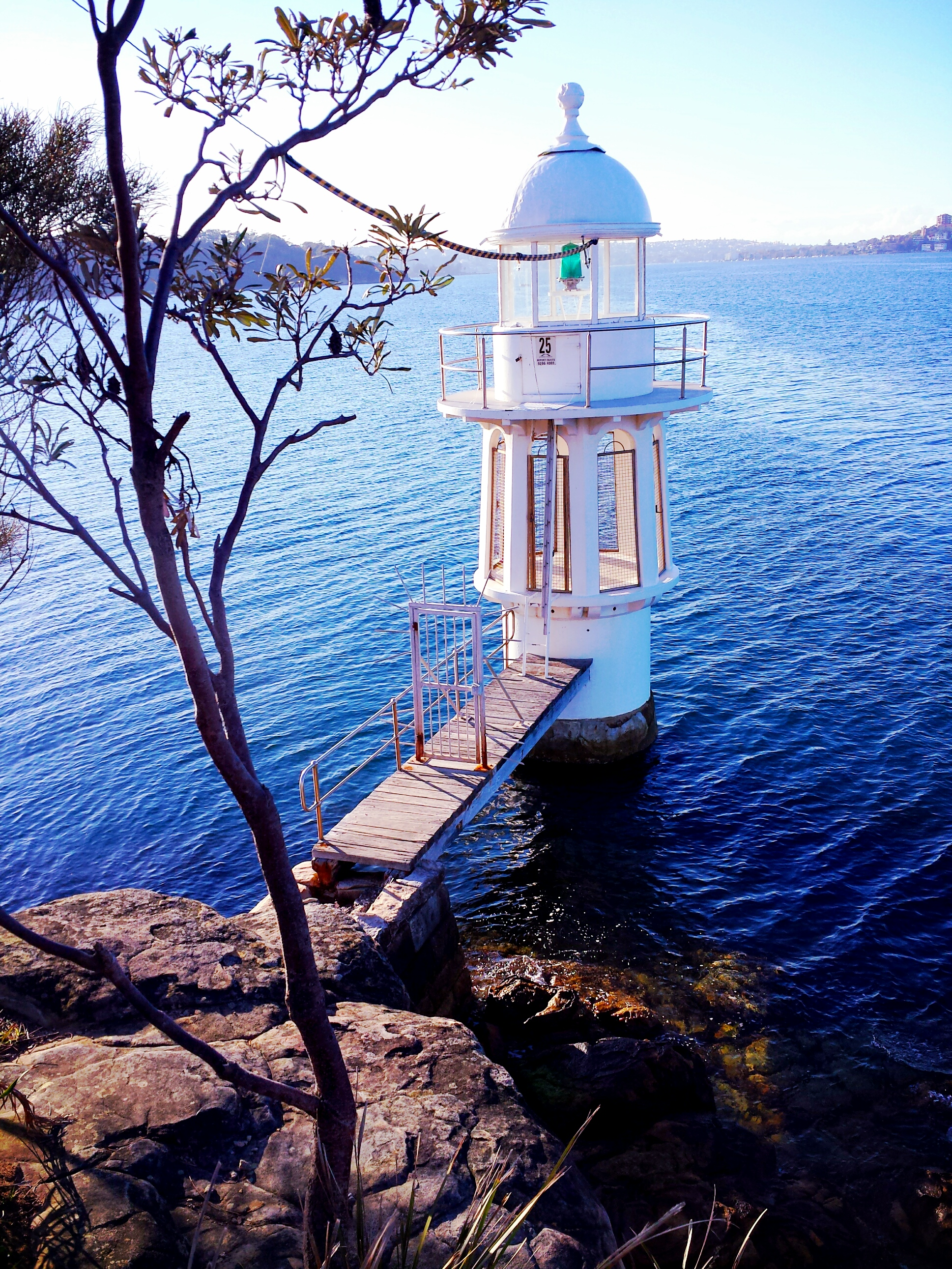 Lighthouse at Cremorne Point Reserve
