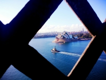 Opera House from Harbour Bridge