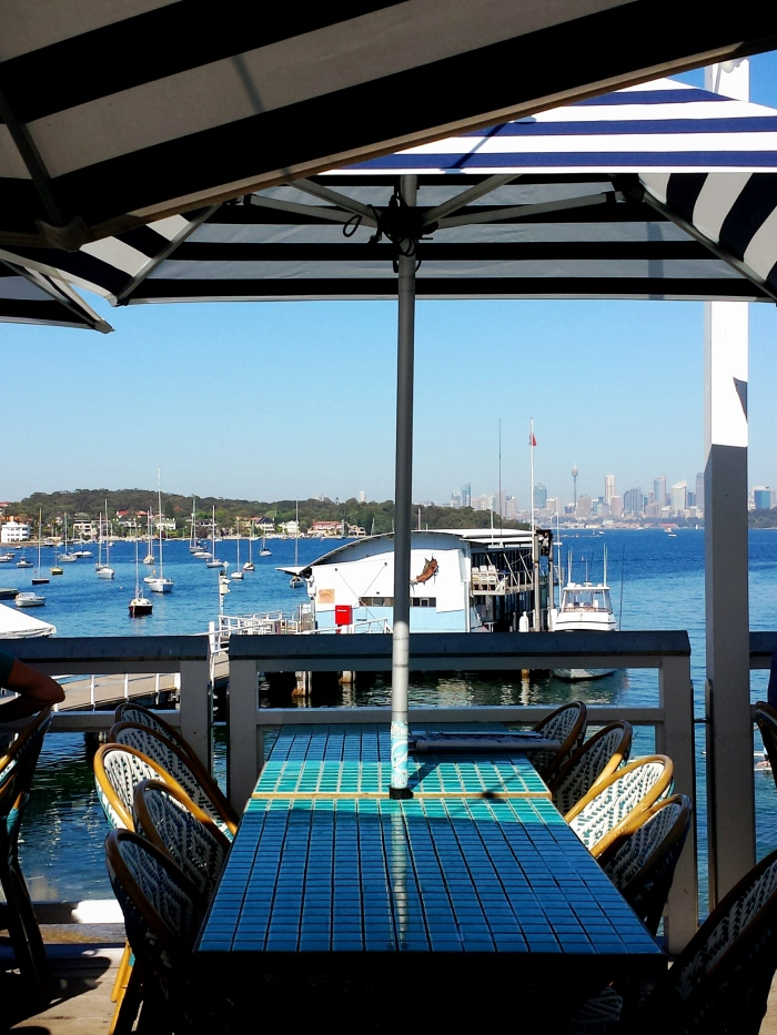 View from Watsons Bay Beach Club
