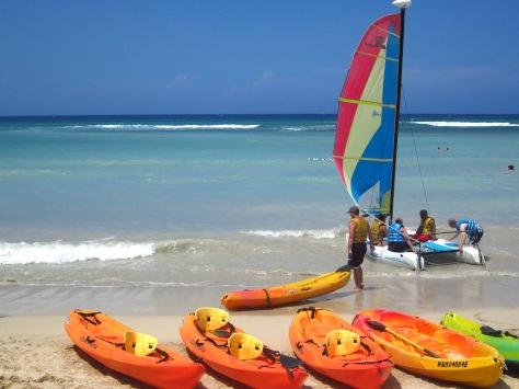 Free Kayaks ride