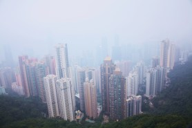 Hazy Day from Victoria Peak