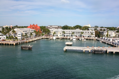 View of key West from the Cruise Ship