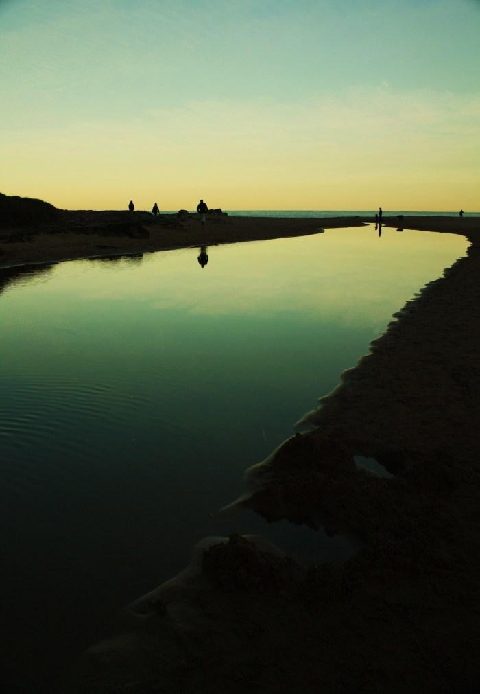 Sunset Stanwell Park Beach