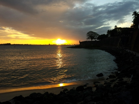 Sunset from the Paseo Del Morro