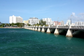 Bridge going to Old San Juan