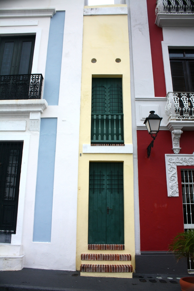 Smallest Door in Old San Juan, Puerto Rico