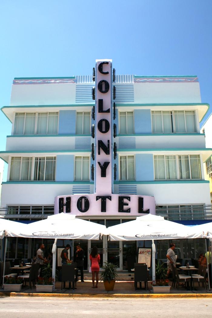 South Beach - Art Deco Building