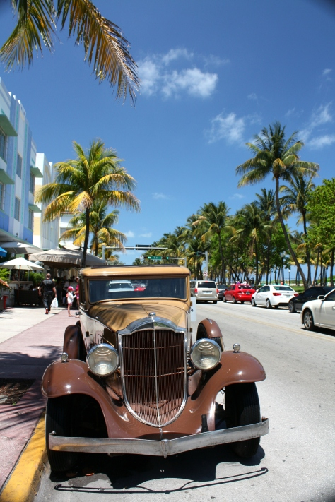 South Beach - Humphrey Bogart's Car