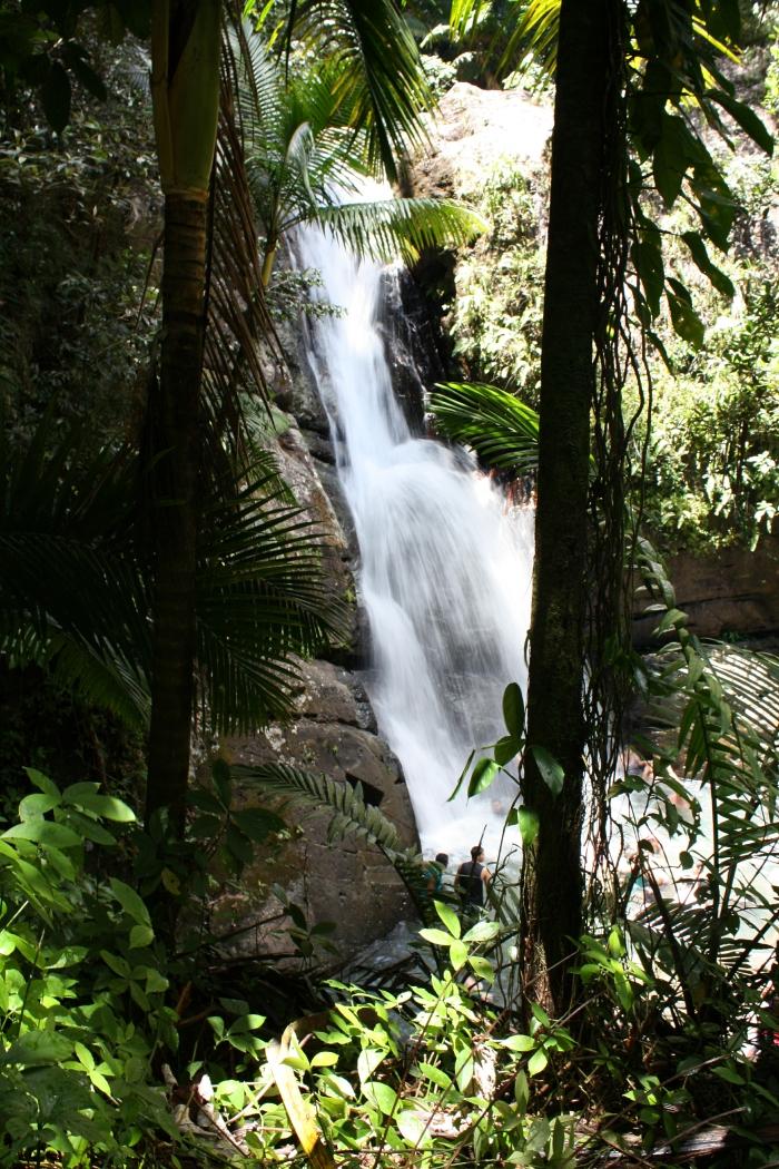 La MIna Falls